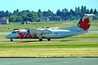 C-GTAQ @ CYVR - De Havilland Canada DHC-8-301 Dash 8 [180] (Air Canada Jazz) Vancouver~C 21/07/2008