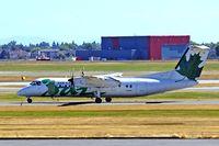 C-GLTA @ CVYR - De Havilland Canada DHC-8-301 Dash 8 [154] (Air Canada Jazz) Vancouver~C 21/07/2008 - by Ray Barber