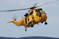 ZH541 @ EGFH - Visiting 22 Squadron RAF Sea King on a training excercise. - by Roger Winser