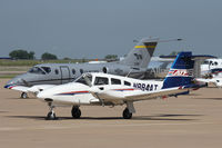 N884AT @ AFW - At Alliance Airport - Fort Worth, TX