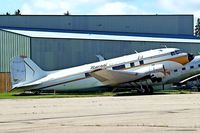 CF-YQG @ CYQF - Douglas DC-3-R4D-1 [4654] (Nunasi Central Airlines) Red Deer~C 23/07/2008 - by Ray Barber