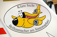 D-KMRM @ EDVY - Grob G.109 [6076] Porta Westfalica~D 24/05/2006. Design on the tail. - by Ray Barber