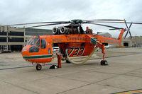N179AC @ YMEN - Sikorsky S-64F Skycrane [64-091] Melbourne-Essendon~VH 20/03/2007 - by Ray Barber
