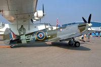 CF-FLC @ CYOO - Supermarine Spitfire LFIXc [CBAX.IX.1875] Oshawa~C 25/06/2005 - by Ray Barber