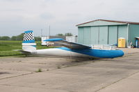 N48039 @ HAE - One of two gliders on the ramp
