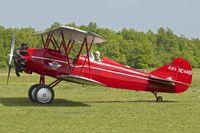 N4418 @ LFFQ - 1928 Curtiss Wright TRAVEL AIR 4000, c/n: 378 at 2013 La Ferte Alais
