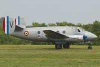 F-AZDR @ LFFQ - Dassault MD-312 Flamant, c/n: 160 at 2013 La Ferte Alais