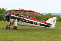 F-AZAK @ LFFQ - Morane-Saulnier MS-230, c/n: 403 at La Ferte Alais in 2013