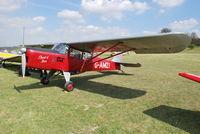 G-AMZI @ EGHP - Auster J-5F Aiglet Trainer at Popham - by moxy