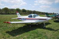 G-CEIX @ EGHP - Pioneer 300 at Popham - by moxy