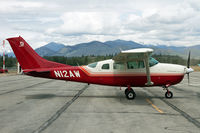 N12AW @ S52 - Vacationing in the Methow Valley, a big smoke jumper base in the summer months - by Duncan Kirk
