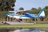C-GMRZ @ 96WI - Piper PA-18-150 Super Cub [18-8009021] Oshkosh-Lake Winnebago Seaplane Base~N 30/07/2008 - by Ray Barber