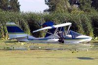 N123XM @ 96WI - Progressive Aerodyne SeaRey [1MK-236] Oshkosh-Lake Winnebago Seaplane Base~N 30/07/2008 - by Ray Barber