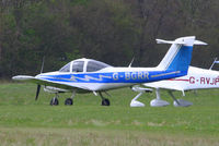 G-BGRR @ EGHP - at the LAA Microlight Trade Fair, Popham - by Chris Hall