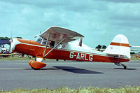 G-ARLG @ EGTC - Beagle Auster D.4/108 [3606] Cranfield~G 03/07/1982. Image taken from a slide. - by Ray Barber