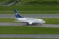 C-GWCQ @ CYVR - WestJet 737 - by speedbrds