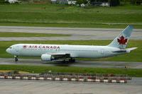 C-GHLU @ CYVR - Air Canada 767 - by speedbrds