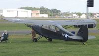 N10493 @ LAL - 1956 AERONCA 7BCM AT SUN N FUN - by dennisheal
