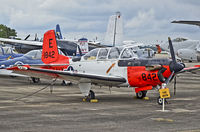 161842 @ KNPA - Beechcraft T-34C Turbo Mentor BuNo 161842 (C/N GL-237)  National Naval Aviation Museum TDelCoro May 10, 2013 - by Tomás Del Coro