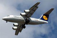 D-AVRR @ EGLL - BAe 146-RJ85 [E2317] (Lufthansa Regional) Home~G 23/08/2009
