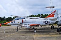 159795 @ KNPA - Douglas TA-4J Skyhawk BuNo 159795 (C/N 14494)  National Naval Aviation Museum TDelCoro May 10, 2013 - by Tomás Del Coro