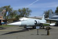 56-0752 - Lockheed F-104A Starfighter at the Travis Air Museum, Travis AFB Fairfield CA - by Ingo Warnecke