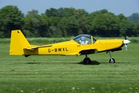 G-BWXL @ EDLG - Former EFTS Firefly G-BWXL is now flown by its new Belgian owner.