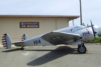 41-27616 - Beechcraft AT-11 Kansan at the Travis Air Museum, Travis AFB Fairfield CA - by Ingo Warnecke