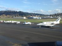 C-FDAA @ KTTD - Sunny day in Troutdale, feather in the hat! - by Pierre Constantin