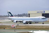 B-LJI @ KLAX - Cathay Pacific Cargo 747-8F - by speedbrds