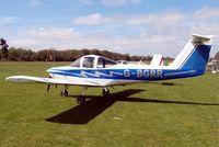 G-BGRR @ EGHP - Piper PA-38-112 Tomahawk [38-78A0336] Popham~G 05/05/2013 - by Ray Barber