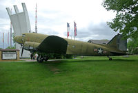 43-49081 @ EDDF - Douglas C-47 at Luftbrückendenkmal - by Andreas Ranner