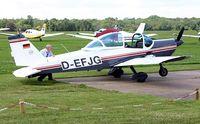 D-EFJG @ EGLD - Fuel stop at Denham - by Clive Glaister