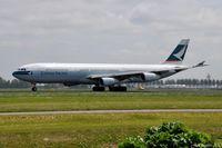 B-HXD @ EHAM - Cathay Pacific Airbus - by Jan Lefers
