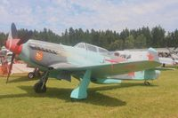 D-FAFA @ EDGB - This Yak-9UM (Red 04) was shown at the Breitscheid Airshow in 2010 in Germany - by lkuipers