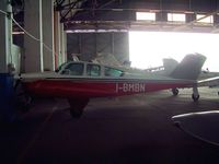 I-BMBN @ LIMB - Beech V35 Bonanza [D-8133] Milan-Bresso~I  20/07/2004. Not the best of images as the light from the outside has made this darker.
