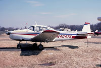 N4047K @ 47N - Navion-A Hummingbird II parked at, what was once called Kupper Airfield, just outside Manville NJ - by John Hevesi