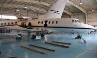 N418RD @ KRFD - Hawker 700A