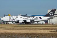 HS-TGW @ RJAA - Thai Airways International