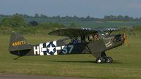 G-RRSR @ EGSU - 2. G-RRSR at the IWM Spring Airshow, May 2013. - by Eric.Fishwick