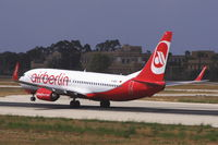 D-ABKU @ LMML - B737-800 D-ABKU Air Berlin - by Raymond Zammit