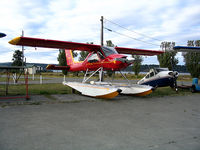 C-GRJK - Parked at Sealand, Campbell River, BC - by Ray Paquette