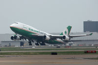 B-16407 @ DFW - EVA Air Cargo departing DFW airport