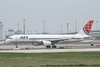 N752CX @ DFW - ATI 757-combi at DFW Airport