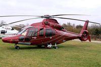 G-WJCJ @ EGBC - Eurocopter EC.155B1 Dauphin [6748] (Starspeed) Cheltenham Racecourse~G 16/03/2012