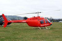 G-MFMF @ EGBC - Bell 206B3 Jet Ranger III [3569] (WPD Helicopter Unit) Cheltenham Racecourse~G 16/03/2012
