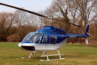 G-TOYZ @ EGBC - Bell 206B-3 Jet Ranger III [3949] Cheltenham Racecourse~G 15/03/2011