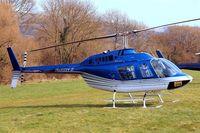 G-TOYZ @ EGBC - Bell 206B-3 Jet Ranger III [3949] Cheltenham Racecourse~G 17/03/2011