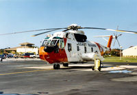 1492 @ PIE - HH-3F Pelican at the United States Coast Guard Station at Clearwater in November 1987. - by Peter Nicholson