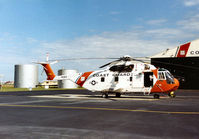 1492 @ PIE - Another view of this HH-3F Pelican at the United States Coast Guard Station at Clearwater in November 1987. - by Peter Nicholson